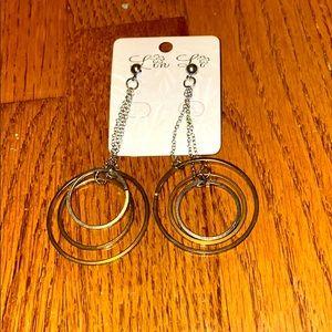 💚Circle drop earrings